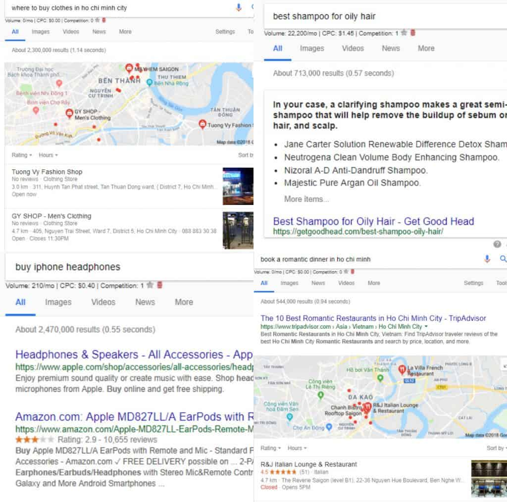 commercial searcher intent