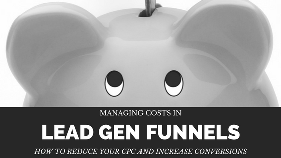 lead gen funnel costs