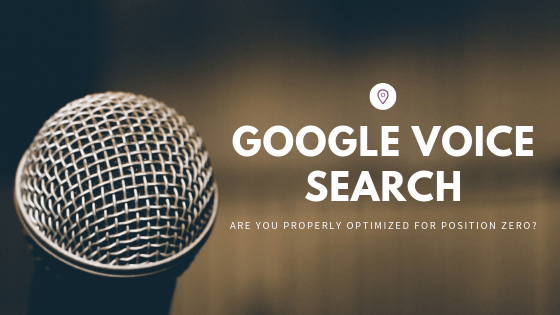 optimize for google voice search banner